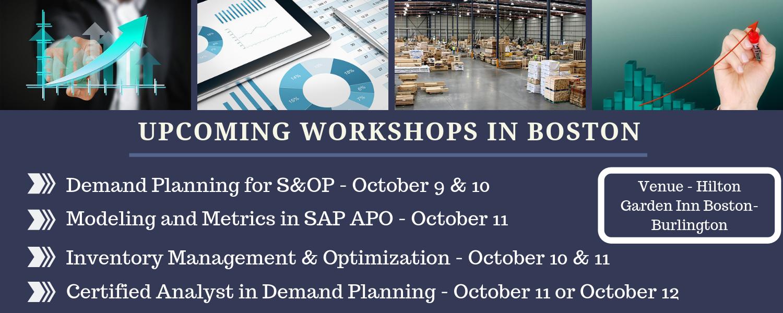 Boston Workshops