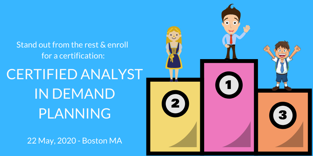 Certified Analyst in Demand Planning, CADP, Training, Certification