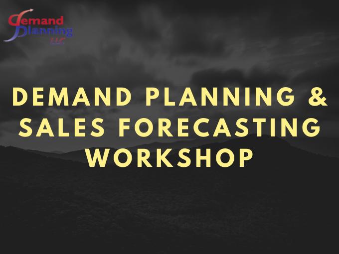 Demand Planning Workshop
