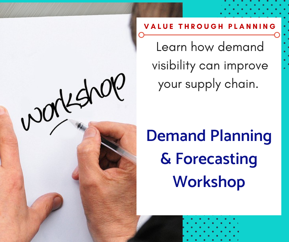 demand planning,sales, forecast, workshop, training