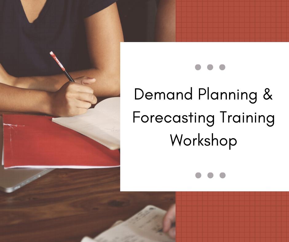 demand planning, sales, forecast, training, workshop