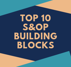 10 S&OP building blocks